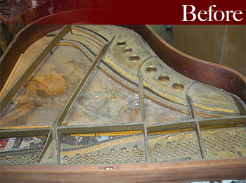 New Jersey Piano Restoration Before
